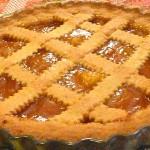Crostata di marmellata di albicocche